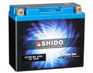 DC-Afam Shido Lithium lonen Batterie YT14B-BS