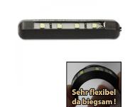 HS Motorradteile LED-Kennzeichenbeleuchtung Flex