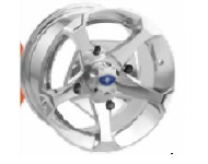 Polaris Vader 14'' Luster Wheel Front
