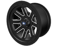 REBLR 14'' Flat Black Beadlock 14'' X 7'' Rear 1