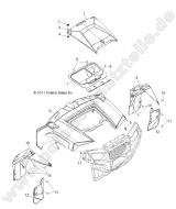 polaris rzr xp 900 efi original ersatzteile und zubeh r Polaris RZR 900 Air Filter polaris rzr xp 900 efi body hood and front body work