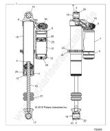 Polaris RZR 900 50/55 - Original Ersatzteile und Zubehör